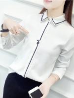 Pre:สินค้าจีนนำเข้า:เสื้อ (มี2สี:ขาว,ฟ้า)