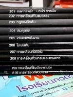 ►ออนดีมานด์◄ PHY 1430 Set ฟิสิกส์กลศาสตร์ ม.ปลาย 1-3 ครบ 10 เล่ม ทุกเล่มจดละเอียดเกินครึ่งเล่ม แบบฝึกหัดบางข้อเว้นไว้ไม่ได้จด แต่มีเฉลยด้านหลังทุกเล่ม มีสรุปสูตรสำคัญ,ข้อควรรู้ ,ข้อสังเกต และเทคนิคลัดมากมาย
