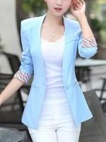 Pre-Order:สินค้านำเข้า>เสื้อสูทคลุม (มีให้เลือก5สี)