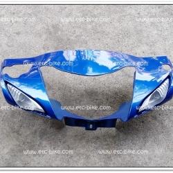 หน้ากากหน้า WAVE100-S สีน้ำเงิน