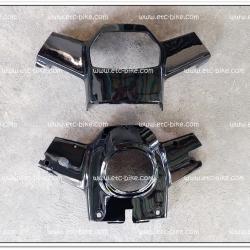 หน้ากาก บน-ล่าง RC100 สีดำ