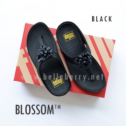* NEW * FitFlop Blossom : Black : Size US 5 / EU 36
