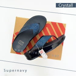 FitFlop : CRYSTALL : Supernavy : Size US 8 / EU 39
