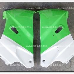 หน้ากาก KR150 สีเขียวตอง/ขาวมุก