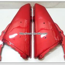 ฝากระเป๋า RXK สีแดงบรอนซ์