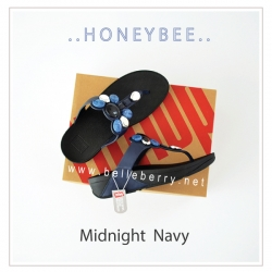 * NEW * FitFlop : Honeybee : Midnight Navy : Size US 7 / EU 38