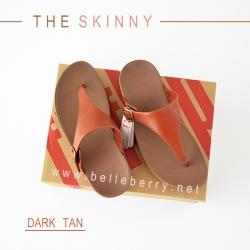 FitFlop The Skinny : Dark Tan : Size US 6 / EU 37