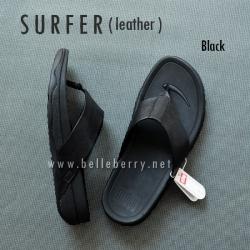 * NEW * FitFlop Men's : SURFER : Black : Size US 12 / EU 45