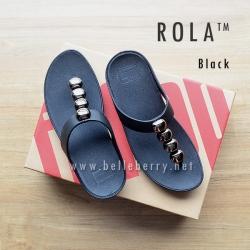 FitFlop : ROLA : Black : Size US 6 / EU 37