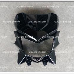 หน้ากาก บน-ล่าง KSR สีดำเปียโน