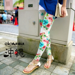 ♡♡Pre Order♡♡ กางเกงเลกกิ้งขายาว ผ้าคอตตอนเนื้อนิ่มลายดอกไม้สวยๆ สวมใส่สบาย สวยน่ารักแนววินเทจมากๆ ค่ะ สำเนา