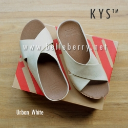 ** NEW ** FitFlop : : K Y S : : Urban White : Size US 8 / EU 39