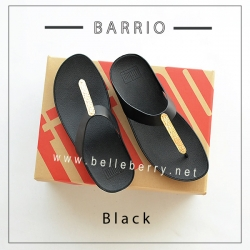 * NEW * FitFlop : BARRIO : Black : Size US 7 / EU 38