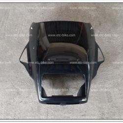 หน้ากาก+บังไมล์ ZR120 สีน้ำเงินดำ