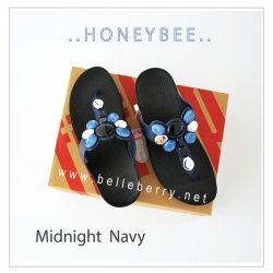 FitFlop : Honeybee : Midnight Navy : Size US 8 / EU 39