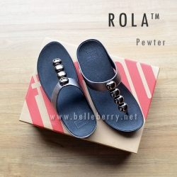 FitFlop : ROLA : Pewter : Size US 5 / EU 36