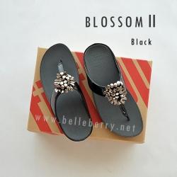 * NEW * FitFlop Blossom II : Black : Size US 7 / EU 38