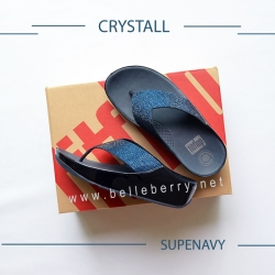 * NEW * FitFlop : CRYSTALL : Supernavy : Size US 5 / EU 36