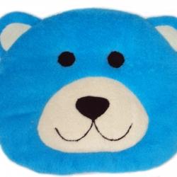 เบาะรองนั่งแฟนซี-หมี-สีฟ้า