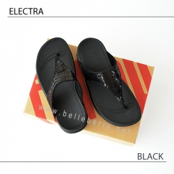 * NEW * FitFlop ELECTRA Classic : Black : Size US 8 / EU 39