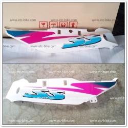 ฝาข้าง ซ้าย-ขวา SERPICO-SS สีขาว/น้ำเงิน แท้ศูนย์