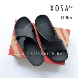 FitFlop XOSA : ALL BLACK : Size US 08 / EU 41