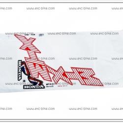 สติ๊กเกอร์ MTX ปี 87 ติดรถสีแดง-ขาว