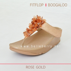 FitFlop : BOOGALOO : Rose Gold : Size US 8 / EU 39