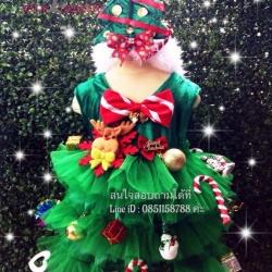 ชุดต้นคริสมาส ชุดซานตี้ ชุดแซนตี้ ชุดคริสมาส