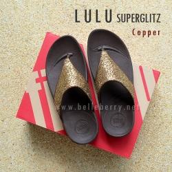 **พร้อมส่ง** FitFlop LULU Superglitz : Copper : Size US 7 / EU 38