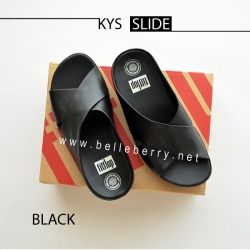 FitFlop : KYS Slide : All Black : Size US 6 / EU 37