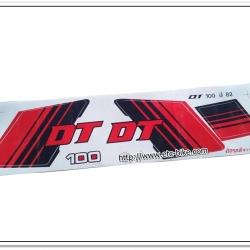 สติ๊กเกอร์ DT100 ปี 82 ติดรถสีขาว