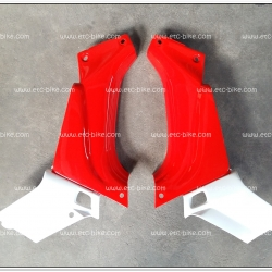 คอนโซลหน้า BELLE-R แดง/ขาว