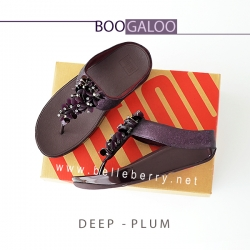 * NEW * FitFlop : BOOGALOO : Deep Plum : Size US 8 / EU 39
