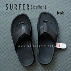 FitFlop Men's : SURFER : Black : Size US 11 / EU 44