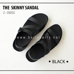 FitFlop The Skinny Z-Cross : Black : Size US 7 / EU 38