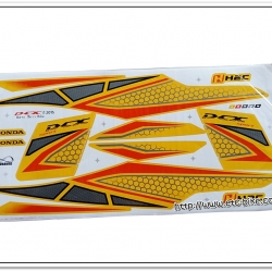 สติ๊กเกอร์ PCX150 ปี 2015 สีเหลือง