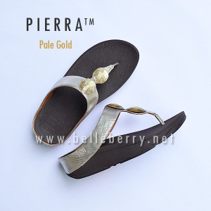 * NEW * FitFlop Pierra : Pale Gold : Size US 8 / EU 39