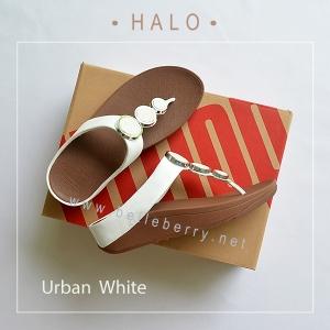 * NEW * FitFlop : HALO : Urban White : Size US 7 / EU 38