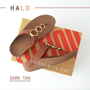 * NEW * FitFlop : HALO : Dark Tan : Size US 5 / EU 36