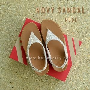 **พร้อมส่ง** FitFlop : NOVY SANDAL : Nude : Size US 8 / EU 39