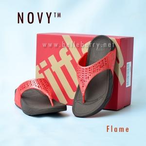 **พร้อมส่ง** FitFlop : NOVY : Flame : Size US 8 / EU 39