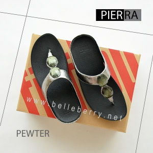 * NEW * FitFlop Pierra : Pewter : Size US 8 / EU 39