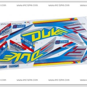 สติ๊กเกอร์ MSX-DUKE ปี 2015 สีฟ้า