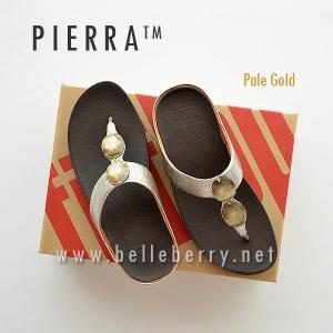 * NEW * FitFlop Pierra : Pale Gold : Size US 7 / EU 38