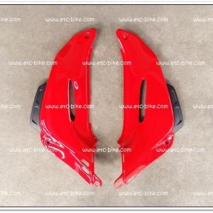 คอนโซลหน้า TENA-NEW สีแดง/ดำด้าน