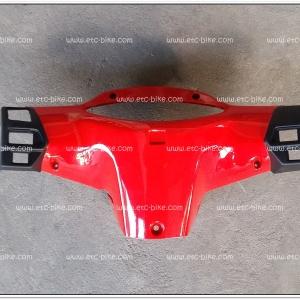 หน้ากากหลัง WAVE125 สีแดง
