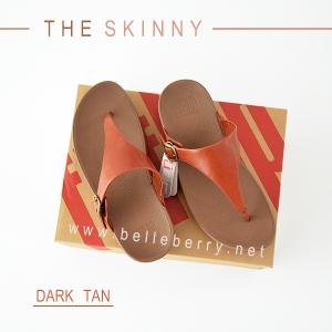* NEW * FitFlop The Skinny : Dark Tan : Size US 6 / EU 37