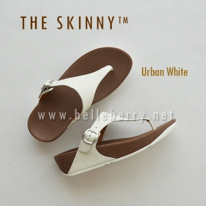 * NEW * FitFlop : The Skinny : Urban White : Size US 6 / EU 37