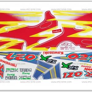 สติ๊กเกอร์ LEO ปี 98 รุ่น 3 ติดรถสีแดง
